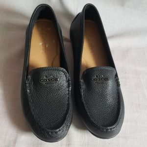 COACH Shoes Slip-on Black Size 6.5 M Leather
